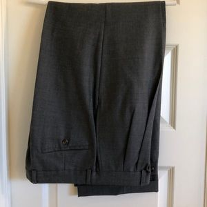 Ralph Lauren Wool Cuffed Dress Pants Slacks